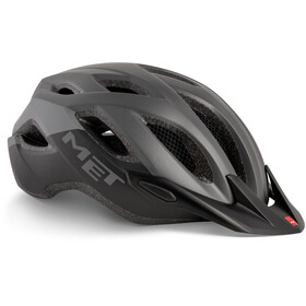 MET Crossover Bike Helmet grey/black